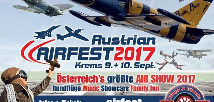 Airfest 2017 in Krems startet morgen