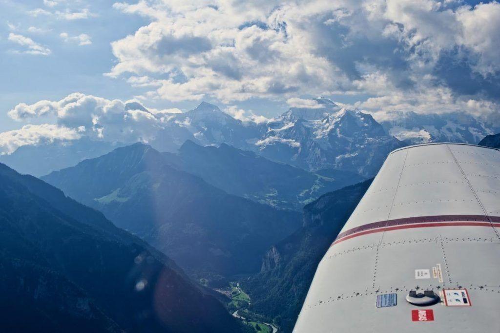 AOPA Austria informiert: Fliegen aus der / in die Schweiz