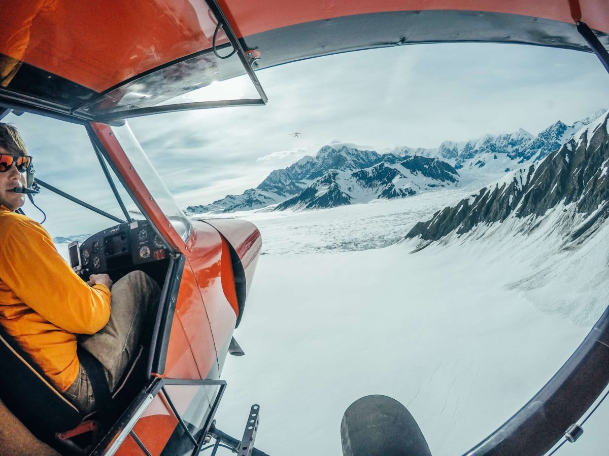 """Bush Pilot-Fliegen"" in Alaska"